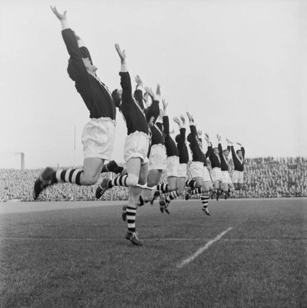 Team Sport Photograph - Kiwis In Action by Bert Hardy