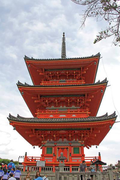 Photograph - Kiyomizu-dera Temple - Kyoto, Japan by Richard Krebs
