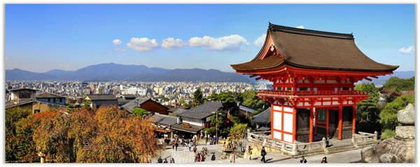 Wall Art - Photograph - Kiyomizu Dera Temple, Kyoto by Seng Chye Teo