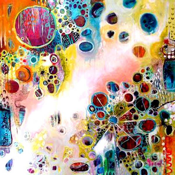 Painting - Kjp_white_bleeding _diagnol by Kasey Jones