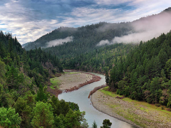 Photograph - Klamath River by Leland D Howard