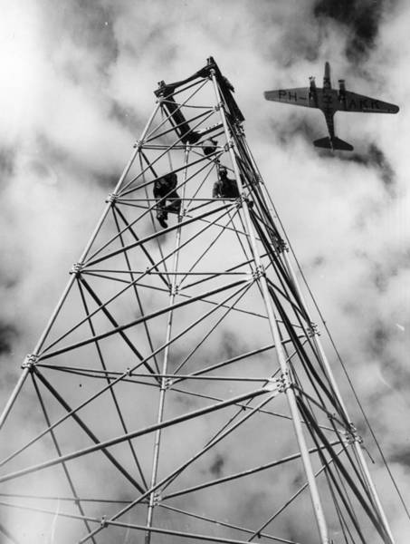 Electricity Generation Photograph - Klm Air Liner by Harry Todd