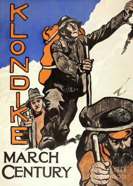 Wall Art - Painting - Klondike From Century Magazine, March 1898 by American School