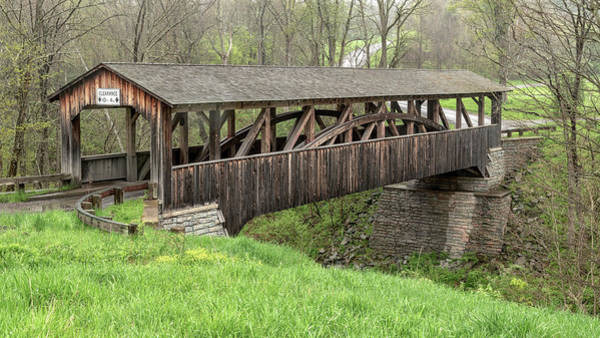 Photograph - Knapp's Covered Bridge by Rod Best