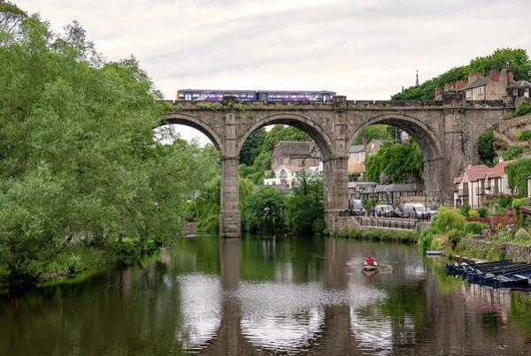 Pyrography - Knaresborough Viaduct by Gouzel