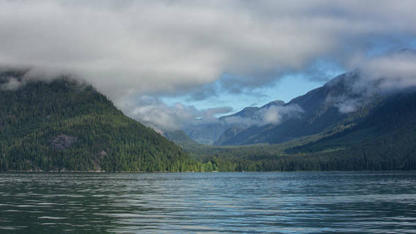 Photograph - Knight Inlet by Randy Hall
