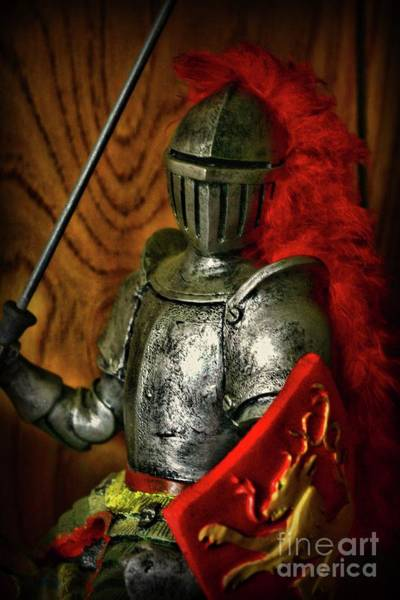Wall Art - Photograph - Knight Prepares For Battle by Paul Ward