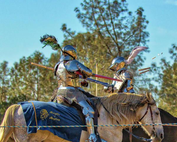 Photograph - Knights Of Mayhem 03 by Jim Thompson