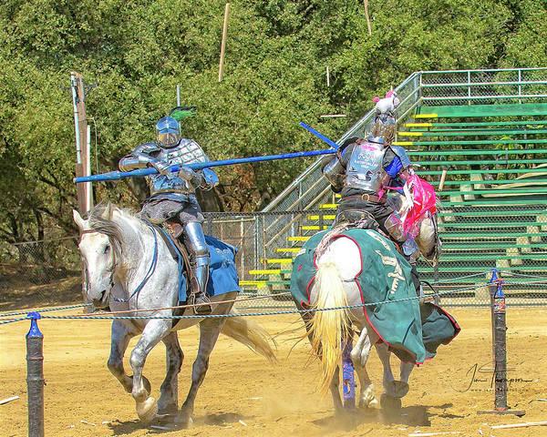 Photograph - Knights Of Mayhen 02 by Jim Thompson