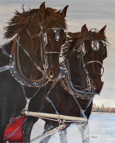 Painting - Knights On Four by Marilyn McNish