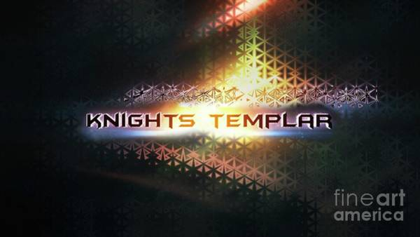 Wall Art - Digital Art - Knights Templar by Raphael Terra