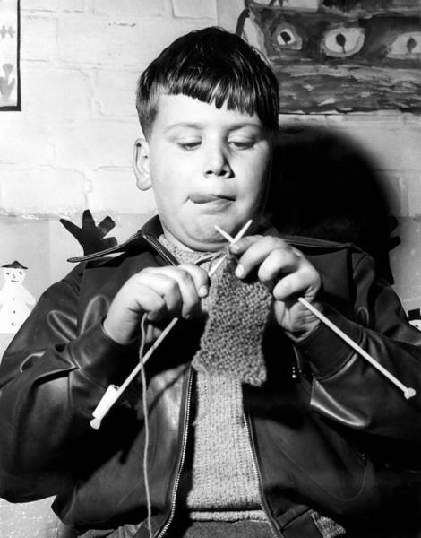 Concentration Photograph - Knit One Drop One by Derek Berwin