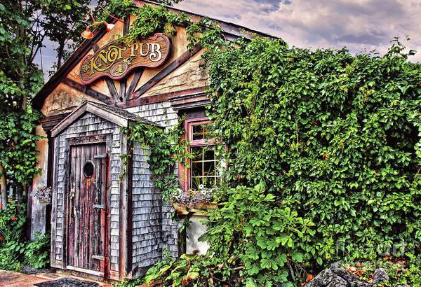 Wall Art - Photograph - Knot Pub Lunenburg  Nova Scotia  by Elaine Manley