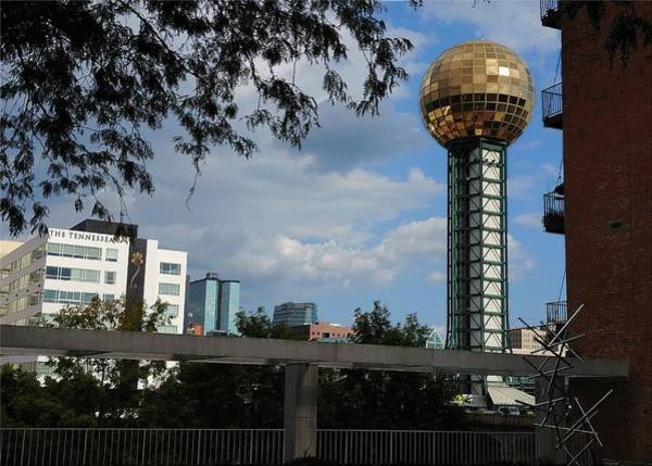 Photograph - Knoxville Sunsphere #2 by Vincent Green