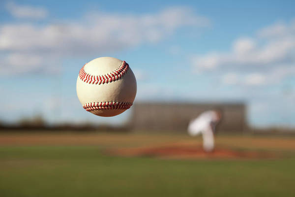 Sport Photography Photograph - Knuckleball Pitch by Dusty Pixel Photography