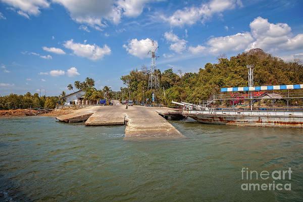 Wall Art - Photograph - Ko Lanta Ferry Thailand by Adrian Evans