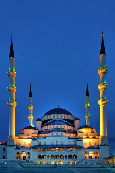 Photograph - Kocatepe Mosque by Fabrizio Troiani