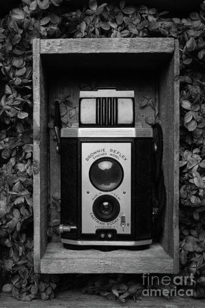 Photograph - Kodak Brownie Camera Still Life by Edward Fielding