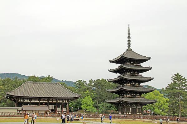 Photograph - Kofuku-ji Temple - Nara, Japan by Richard Krebs