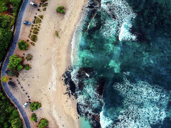 Photograph - Kohanaiki Beach by Christopher Johnson