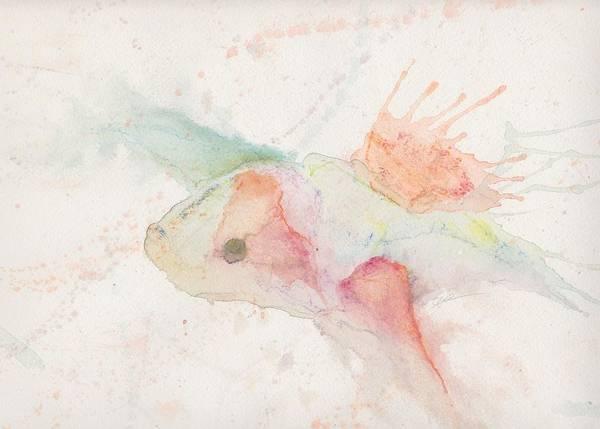 Wall Art - Mixed Media - Koi by Autumn Bear