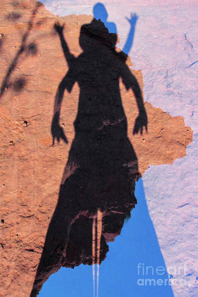 Kokopelli Photograph - Kokopelli S Apparition At Bell Rock by Thomas Carroll