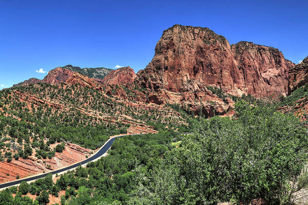 Wall Art - Photograph - Kolob Canyon by Donna Kennedy