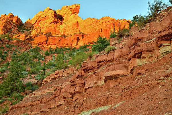 Photograph - Kolob Reservoir Road At Sunset by Ray Mathis