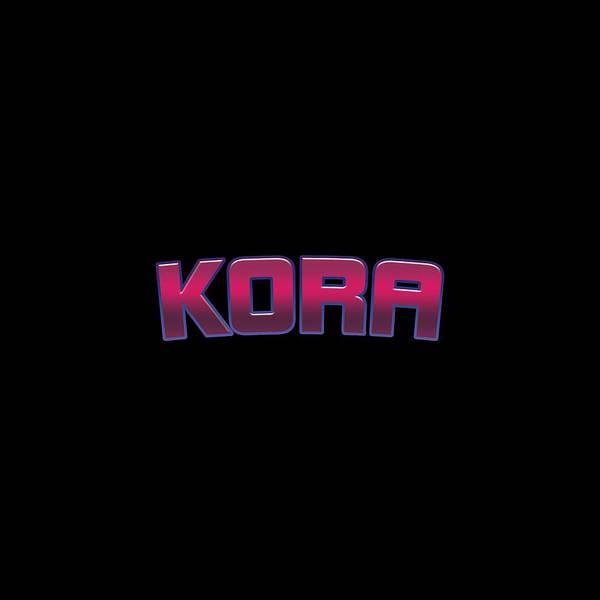 Kora Wall Art - Digital Art - Kora #kora by Tinto Designs
