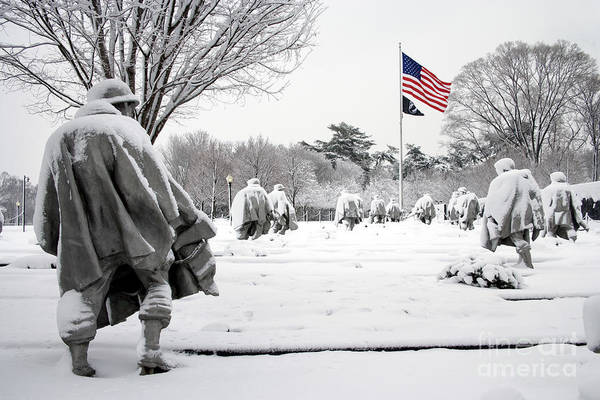 Photograph - Korean War Memorial by Carol Highsmith