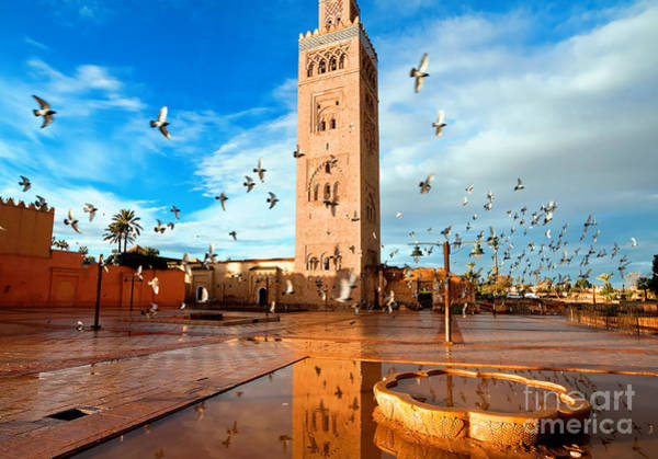 Wall Art - Photograph - Koutoubia Mosque, Marrakech, Morocco by Migel