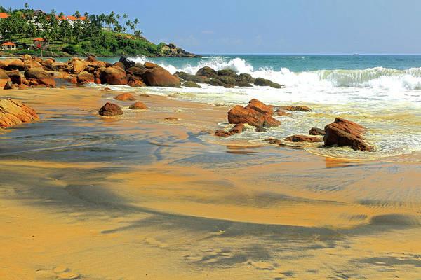 Kerala Photograph - Kovalam Beach, Kerala by Rbb