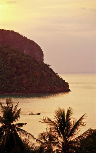 Krabi Province, Ko Phi Phi Don, Sunset Art Print by John Seaton Callahan
