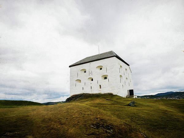 Kristiansten Fortress In Trondheim, Norway Art Print