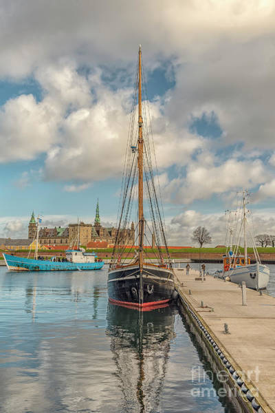 Wall Art - Photograph - Kronborg Castle From The Harbour by Antony McAulay