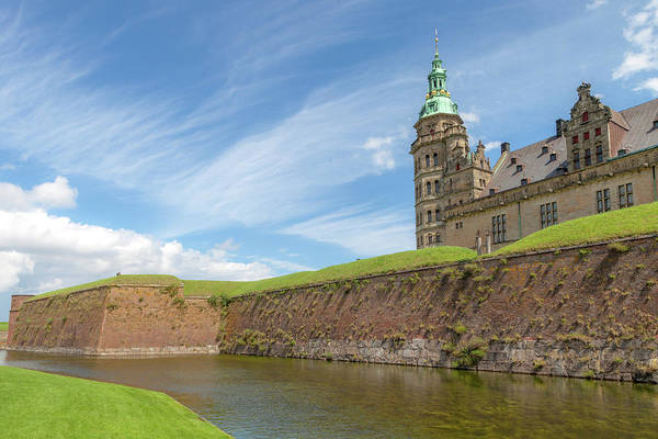 Wall Art - Photograph - Kronborg Castle In Denmark by W Chris Fooshee