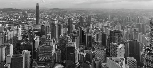 Photograph - Kuala Lumpur Skyline by Georgia Fowler
