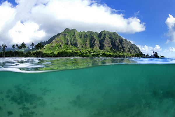 Wall Art - Photograph - Kualoa Split by Sean Davey