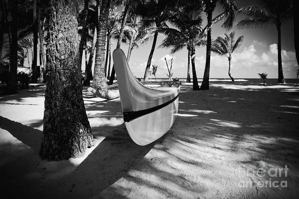 Photograph - Kuau Hawaii Outrigger Canoe by Sharon Mau