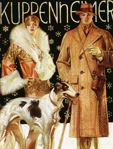 Wall Art - Painting - Kuppenheimer - Digital Remastered Edition by Joseph Christian Leyendecker