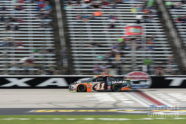 Photograph - Kurt Busch #41 by Paul Quinn