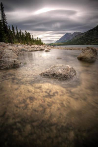 Photograph - Kusawa Lake, Yukon, Canada by Jonathan Tucker