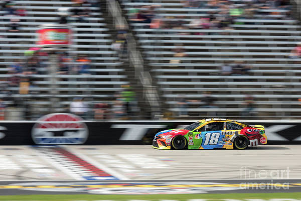 Photograph - Kyle Busch #18 by Paul Quinn