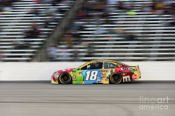 Photograph - Kyle Busch At Speed by Paul Quinn