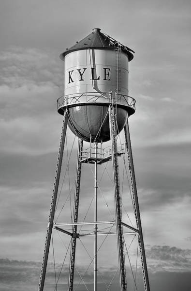 Photograph - Kyle Texas Water Tower by JC Findley