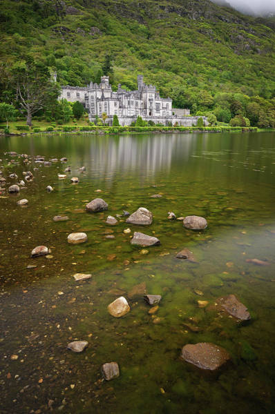 Connemara Photograph - Kylemore Abbey, Connemara, Ireland by Photographed By Owen O'grady
