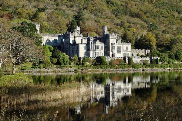 Connemara Photograph - Kylemore Abbey Ireland by Shellie Evans