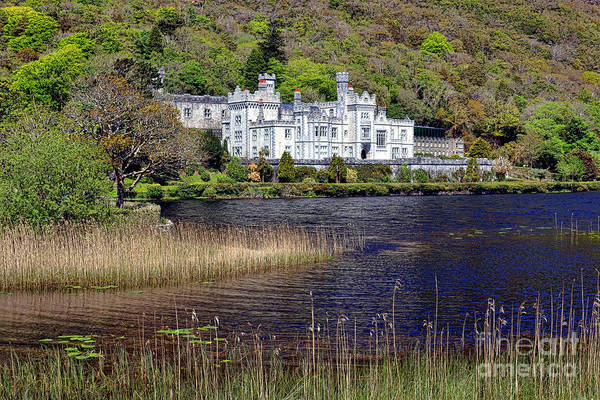 Connemara Photograph - Kylemore Abbey by Olivier Le Queinec