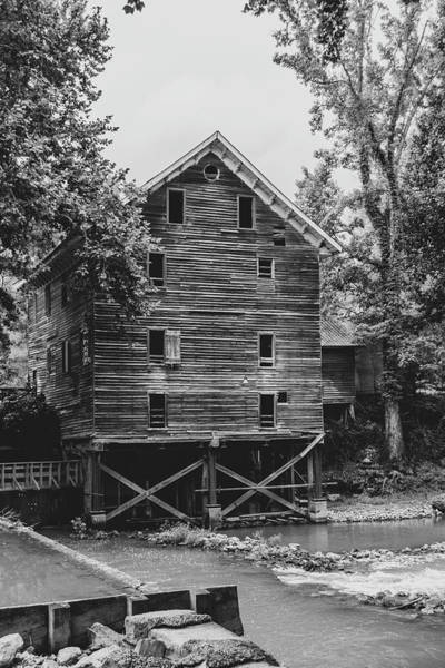Childersburg Photograph - Kymulga Mill by Enzwell Designs