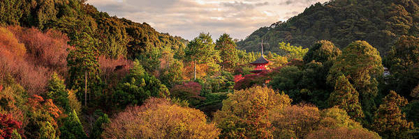Autumn Leaves Photograph - Higashiyama, Kyoto by Francesco Emanuele Carucci